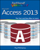 Teach Yourself VISUALLY Access 2013 (1118517709) cover image