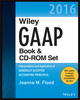 Wiley GAAP 2016: Interpretation and Application of Generally Accepted Accounting Principles Set (1119106109) cover image