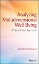 Analyzing Multidimensional Well-Being: A Quantitative Approach (1119256909) cover image