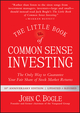 The Little Book of Common Sense Investing, Updated and Revised: The Only Way to Guarantee Your Fair Share of Stock Market Returns (1119404509) cover image