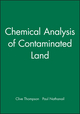 Chemical Analysis of Contaminated Land (1405147709) cover image