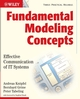 Fundamental Modeling Concepts: Effective Communication of IT Systems (047002710X) cover image