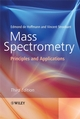 Mass Spectrometry: Principles and Applications, 3rd Edition (047003310X) cover image