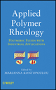 Applied Polymer Rheology: Polymeric Fluids with Industrial Applications (047041670X) cover image