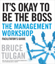 It's Okay to Be the Boss Facilitator's Guide Set (047046240X) cover image