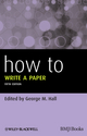 How To Write a Paper, 5th Edition (047067220X) cover image