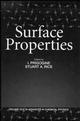 Surface Properties, Volume 95 (047115430X) cover image
