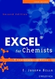 Excel for Chemists: A Comprehensive Guide, 2nd Edition (047146080X) cover image