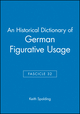 An Historical Dictionary of German Figurative Usage, Fascicle 32 (063104020X) cover image