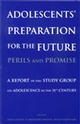Adolescents' Preparation for the Future: Perils and Promise: A Report of the Study Group on Adolescence in the 21st Century (063123540X) cover image