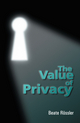 The Value of Privacy (074563110X) cover image