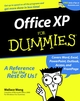Office XP For Dummies (076450830X) cover image