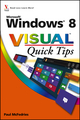 Windows 8 Visual Quick Tips (111813530X) cover image