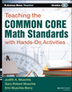 Teaching the Common Core Math Standards with Hands-On Activities, Grades 9-12 (111871010X) cover image