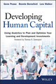 Developing Human Capital: Using Analytics to Plan and Optimize Your Learning and Development Investments (111875350X) cover image