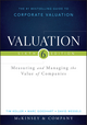 Valuation: Measuring and Managing the Value of Companies, 6th Edition (111887370X) cover image