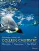 Foundations of College Chemistry, 15th Edition (111893010X) cover image