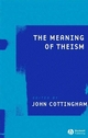 The Meaning of Theism (140515960X) cover image