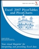 Excel 2007 PivotTables and PivotCharts: Your visual blueprint for interpreting and presenting Excel data (0470132310) cover image