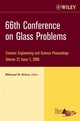 66th Conference on Glass Problems, Volume 27, Issue 1 (0470291710) cover image