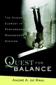 Quest for Balance: The Human Element in Performance Management Systems (0471205710) cover image