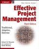 Effective Project Management: Traditional, Adaptive, Extreme, 3rd Edition (0471432210) cover image