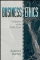 Business Ethics: Violations of the Public Trust (0471545910) cover image