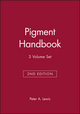 Pigment Handbook, 3 Volume Set, 2nd Edition (0471600210) cover image