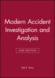 Modern Accident Investigation and Analysis, 2nd Edition (0471624810) cover image