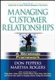 Managing Customer Relationships: A Strategic Framework (0471656410) cover image