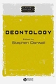 Deontology (0631231110) cover image
