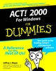 ACT! 2000 for Windows For Dummies (0764505610) cover image