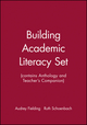 Building Academic Literacy Set (contains Anthology and Teacher's Companion) (0787968110) cover image