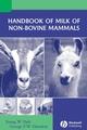 Handbook of Milk of Non-Bovine Mammals (0813820510) cover image