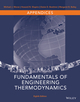 Appendices t/a Fundamentals of Engineering Thermodynamics, Eighth Edition (1118957210) cover image