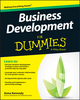 Business Development For Dummies (1118962710) cover image