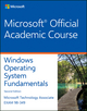 Exam 98-349 MTA Windows Operating System Fundamentals, 2nd Edition (1119308410) cover image