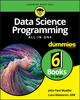 Data Science Programming All-In-One For Dummies (1119626110) cover image