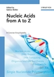 Nucleic Acids from A to Z (3527312110) cover image
