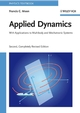 Applied Dynamics: With Applications to Multibody and Mechatronic Systems, 2nd, Completely Revised Edition (3527407510) cover image