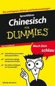 Sprachführer Chinesisch für Dummies Das Pocketbuch (3527636110) cover image