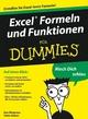 Excel Formeln und Funktionen für Dummies (3527658610) cover image