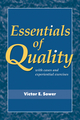 Essentials of Quality with Cases and Experiential Exercises, 1st Edition (EHEP001510) cover image