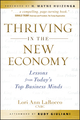 Thriving in the New Economy: Lessons from Today's Top Business Minds (0470557311) cover image