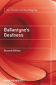 Ballantyne's Deafness, 7th Edition (0470773111) cover image