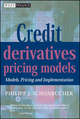 Credit Derivatives Pricing Models: Models, Pricing and Implementation (0470842911) cover image