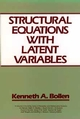 Structural Equations with Latent Variables (0471011711) cover image