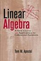 Linear Algebra: A First Course with Applications to Differential Equations (0471174211) cover image