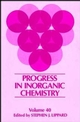 Progress in Inorganic Chemistry, Volume 40 (0471571911) cover image