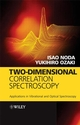 Two-Dimensional Correlation Spectroscopy: Applications in Vibrational and Optical Spectroscopy (0471623911) cover image
